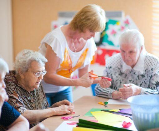 Организация досуга для людей, страдающих деменцией