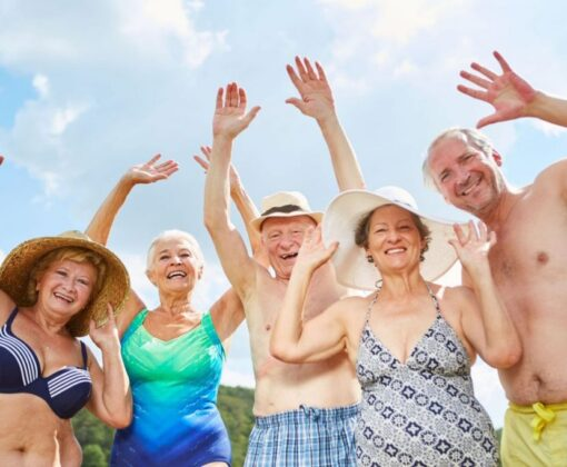 летний досуг для пенсионеров
